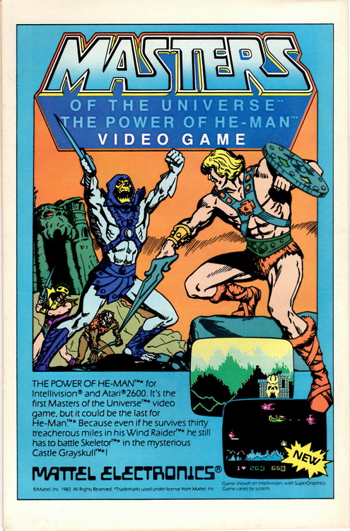 Firestorm 22 Masters of the Universe Game