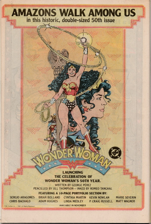 Robin 1 Wonder Woman 50