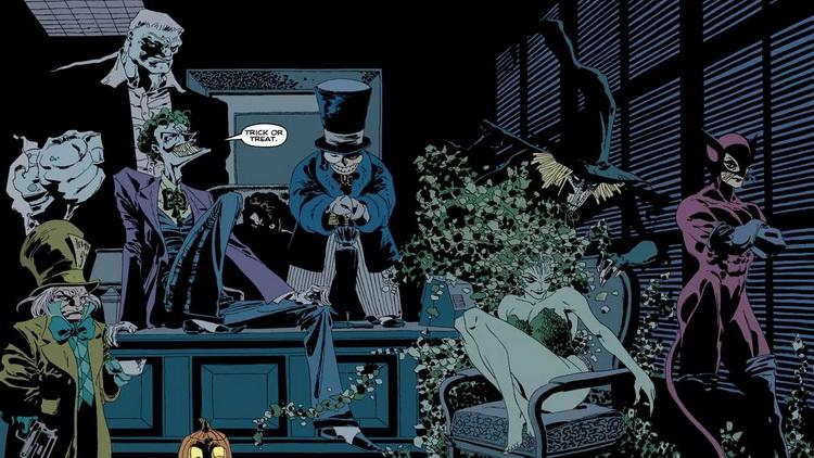 Batman The Long Halloween Villains