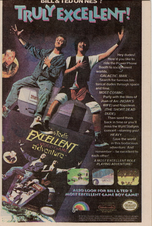 The Web 1 Bill & Ted