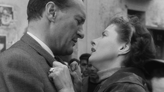 George Sanders and Ingrid Bergman