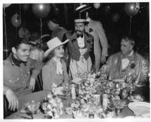 Clark Gable, Carole Lombard, Mervyn LeRoy, William Randolph Heart