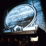 Vince Giardano and the Nighthawks perform during The Cameraman (1928) on Saturday at the TCM Classic Film Festival in Hollywood, 2011