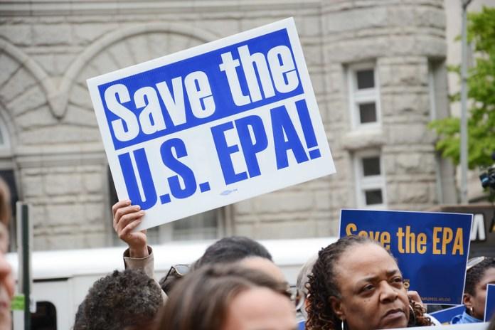 EPA rally