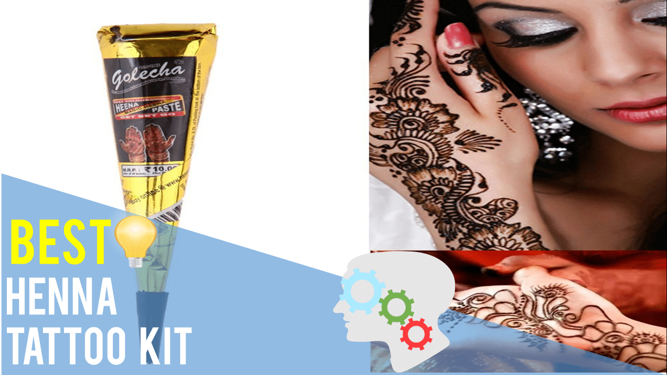 Best Henna Tattoo Kit  Top 5 Reviews Thereviewguruscom