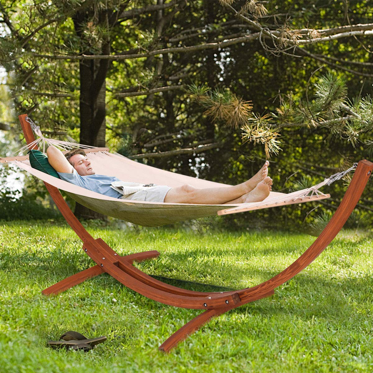 Best Wooden Hammock Stand