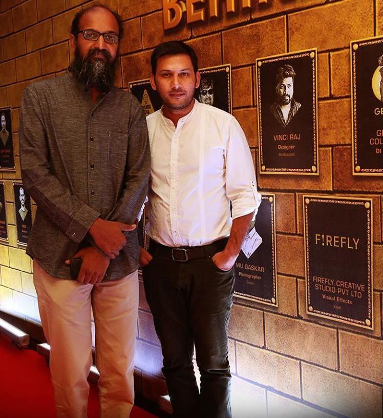 PC Sanath and Junaid Ullah