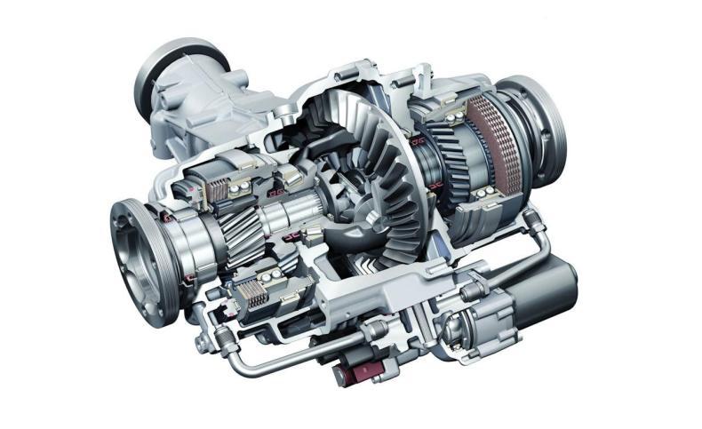 torque vectoring differential