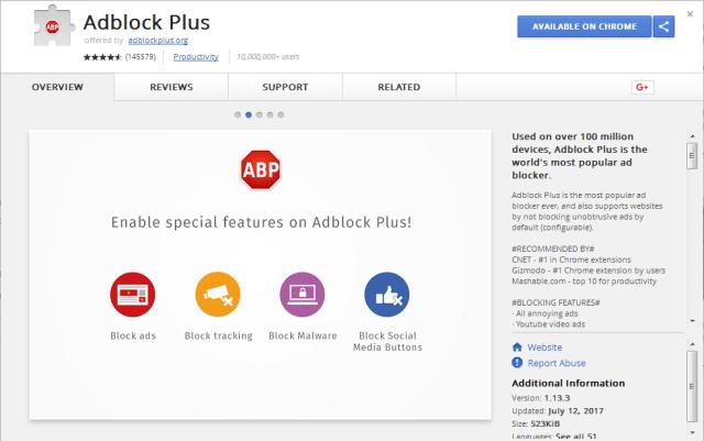 Ad Blocker Plus
