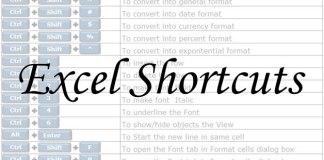excel-shortcuts