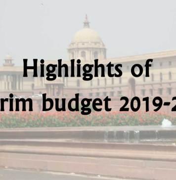 interim budget 2019-2020