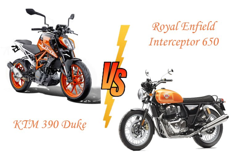 Royal Enfield Interceptor 650 vs KTM 390 Duke: A price brawl!