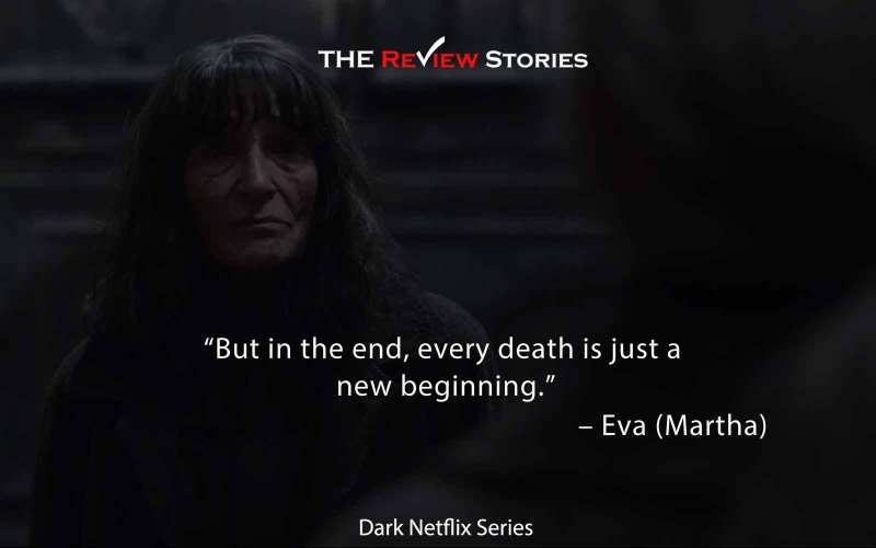 but in the end, every death is just a new beginning