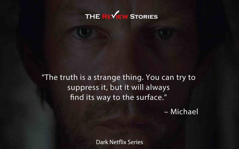 The truth is a strange thing. You can try to suppress it, but it will always find its way to the surface