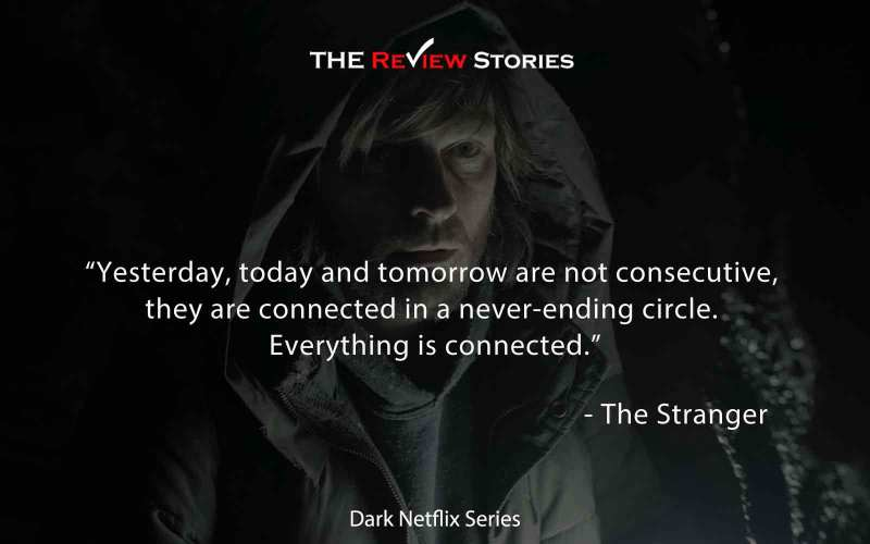 Yesterday, today and tomorrow are not consecutive, they are connected in a never-ending circle. Everything is connected.