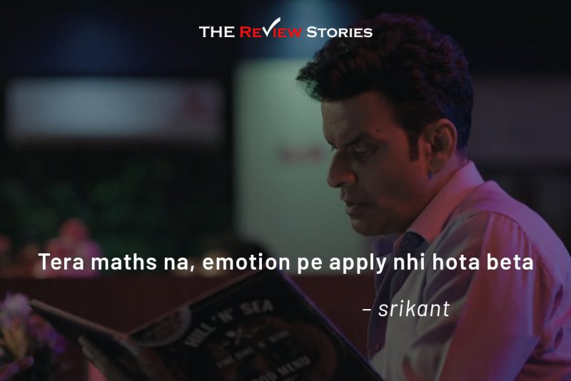 the family man season one dialogues best web series in India