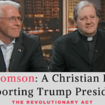 VIDEO: Defending Support for Trump's Presidency as a Christian