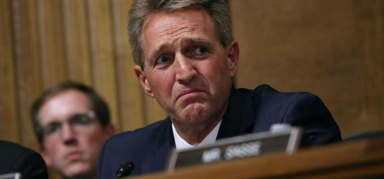 Jeff Flake Sets The U.S. Senate On Treacherous Path This Week