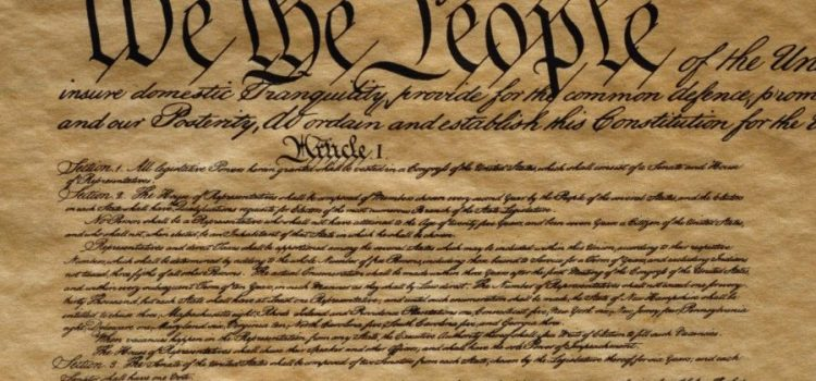 "The Constitution Has Failed? No, It's Merely The ""Parchment Barrier."" Here's What Has Failed."