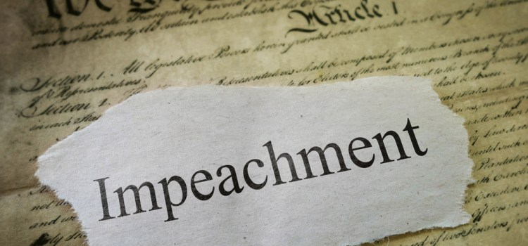 The Very Simple Constitutional And Historical Steps For Impeachment
