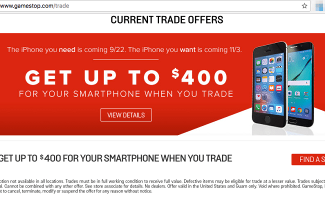 Gamestop Trade In Iphone 6s 32gb Gamewithplay