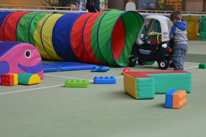 Indoor soft play Center Parcs