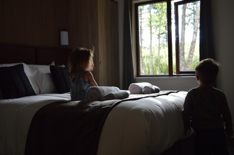 Three-bed executive lodge at Center Parcs Woburn Forest