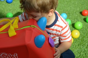 Travel: The boy designed a Trunki and it's not pink. (I know, right?)
