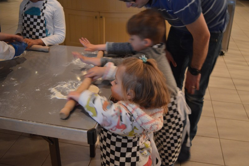 Pizza-making - Very Important Kids