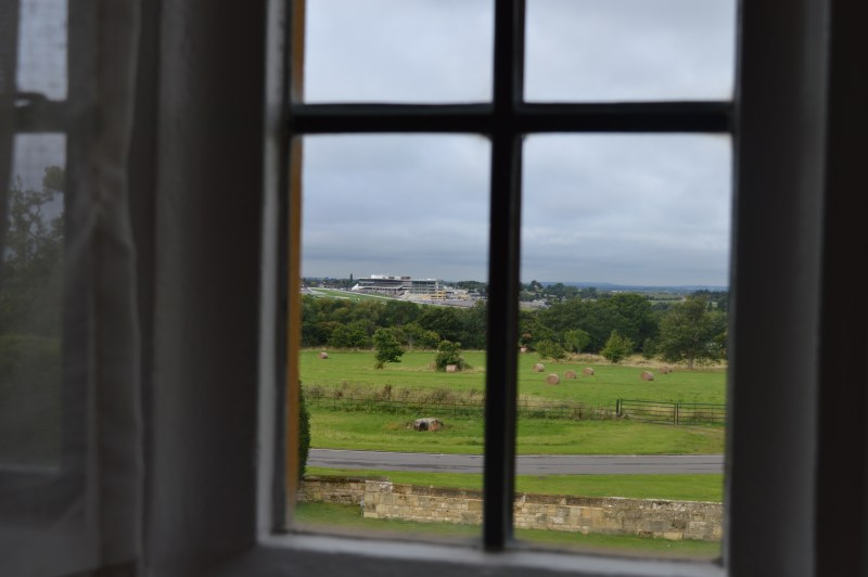 The view from Ellenborough Park hotel