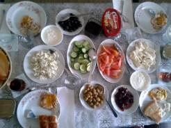Breakfast in Silopi