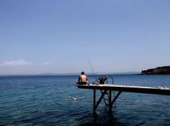 Fisherman at the island of Bozcaada