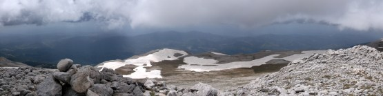 Southern view from Uludag's summit