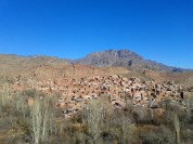 The picturesque redbrick village of Abyaneh
