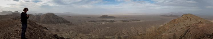 The endless void, Dasht-i Kavir (picture by PB)