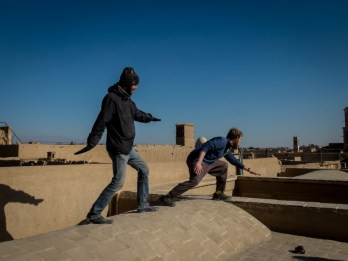 Playing prince of Persia, Yazd (picture by PB)