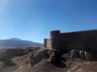 Rayen castle at the base of Kuh-e Hazar