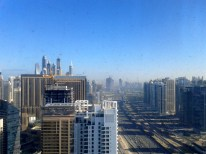 Playing Sim City with the cheats, Dubai
