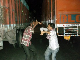 Midnight discoparty, Moradabad ringroad, Uttar Pradesh