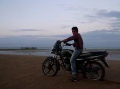 Never too young to drive bike, Chahkuh, Qeshm island