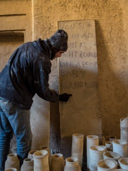 Dust tagging, private paradise, Yazd (picture by PB)