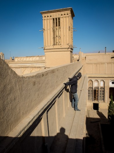 What do you mean 'am I afraid of heights?', Yazd (picture by PB)