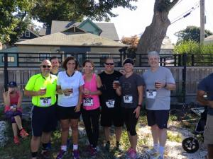 Total Fitness gang at the Finish for a Guinness 5k 2015