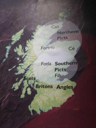 The Northern Picts and our prominence in the North East of this island, which is now called Scotland.
