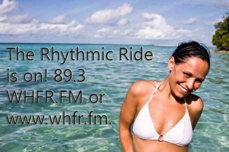 rhythmic ride happy lady