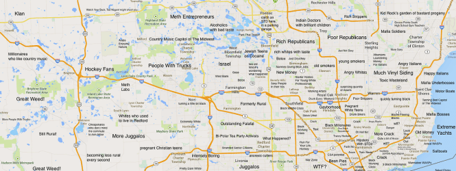 A Judgmental map of Detroit
