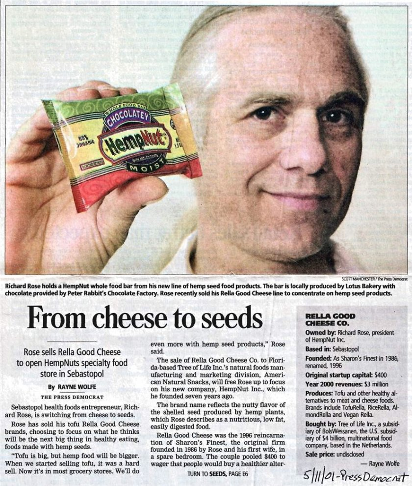 2001: From Cheese to Seeds