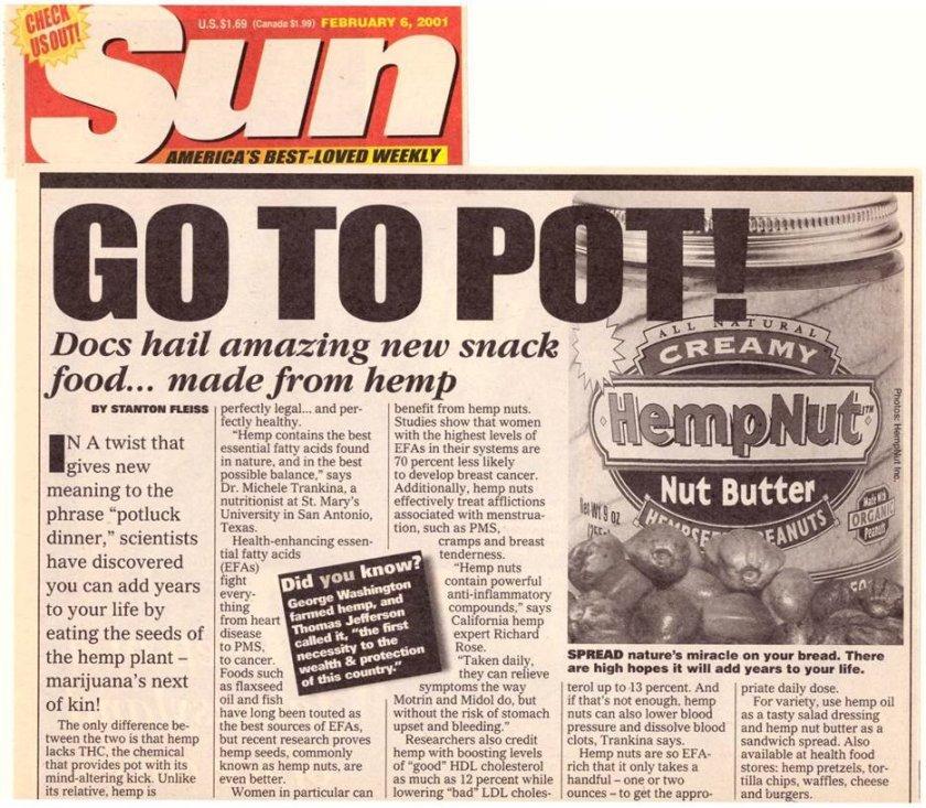 2001: Go To Pot!