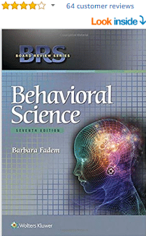 BRS Behavioral Science (Board Review Series) Seventh Edition PDF