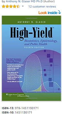 High-Yield Biostatistics Epidemiology and Public Health 4th Edition PDF